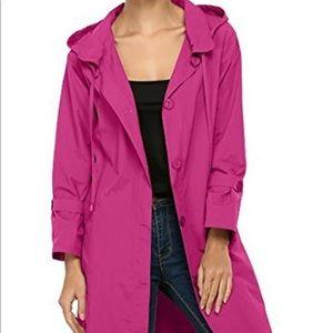 ACEVOG Lightweight Hooded Waterproof Rain Jacket
